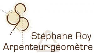 Stéphane Roy Arpenteur géomètre logo